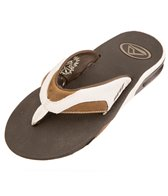 Reef Guys' Leather Fanning Sandal
