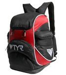 TYR Small Alliance Backpack - Orange/Navy