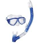 Speedo Jr. Adventure Mask & Snorkel Set - Blue