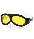 Barracuda Sworkel Goggle - Yellow/Black