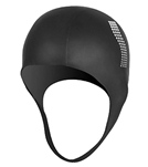DeSoto Neoprene Swim Cap - Black