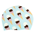 Sporti Ice Cream Silicone Swim Cap