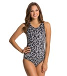 Dolfin Aquashape Moderate Solara Printed Lap Suit