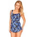 Longitude Mini Garden Tank Sarong One Piece